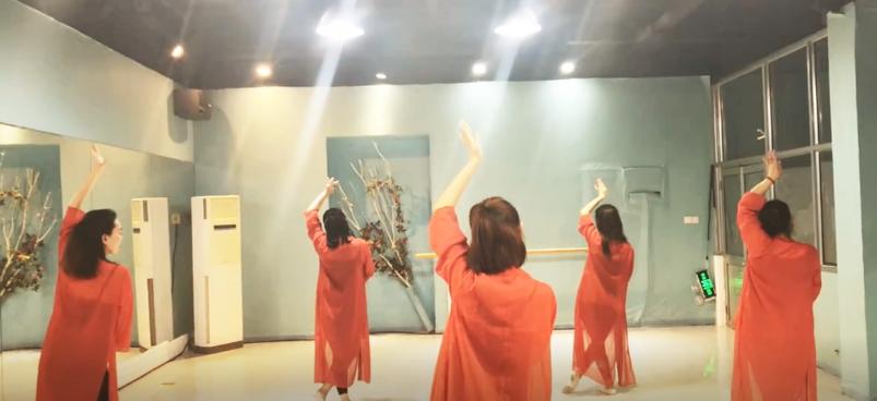 《烟台舞飞扬舞蹈》零基础舞蹈培训《琵琶行》